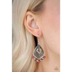 Gracefully Gatsby Multi Pearl Fringe Earrings
